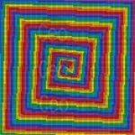 Visual therapy mosaic art