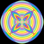 Waverider infinity pattern art print