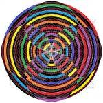 Ultimate hive infinity pattern art print