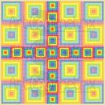 Zones of transformation mosaic art print