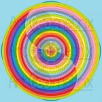 Symbol of ages infinity pattern art print