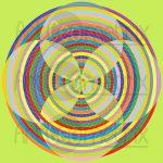 Sidewinder effect infinity pattern art print