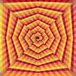 Cherry dream geometric art