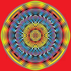 Theta map geometric art