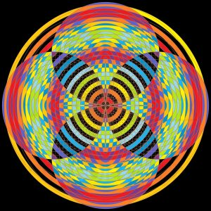 Rush stunner geometric art