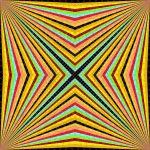 World of colour geometric art