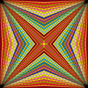 Exemplified vision geometric art