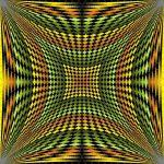 Frame of beauty geometric art