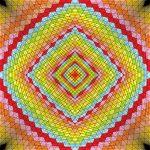 Tenth wonder geometric art