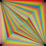 Spotlight geometric art