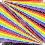 Fold in time geometric art