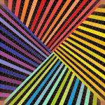 Stripe attack geometric art