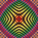 Bold statement geometric art