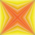 Upon a star geometric art