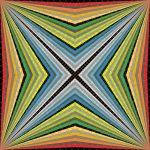 Brazen quality geometric art