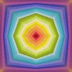 Octagon dream geometric art