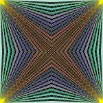 Deepness inside geometric art