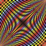 Dashboard geometric art