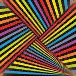 Strike flash geometric art