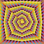 Question of intensity geometric art