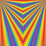 Sliding scale geometric art