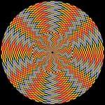 Inspiring spark geometric art