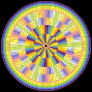 Special flow geometric art
