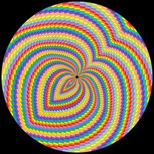 Mind warp geometric art